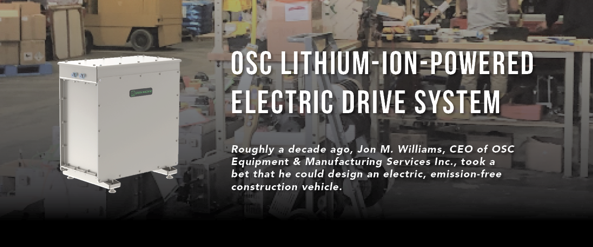 OSC Lithium-Ion-Powered Electric Drive System 1200 x 500
